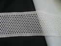 White cotton crochet clunny trim 2 9/16inch