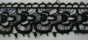 1 yd Black Venice Lace Trim 1 7/8 inch
