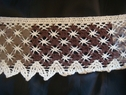 Crochet clunny rim 2 tone brown 3 inch wide