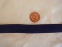 10 Yards Purple Fold Over Elastic FOE Trim 5/8 W