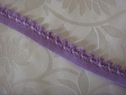 10Y Purple Picot Elastic Trim 5/8 W
