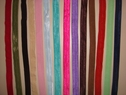 14 Various 5Y Fold Over Elastic FOE Trims 5/8 W