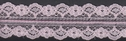 Baby-Pink Double Floral Scalloped Lace Trim 1 1-8 W L 6 box 2