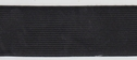 wholesale roll 50 Y Black knitted Elastic Trim 1 1/2 W