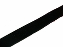 1y Black Velvet Ribbon Trim 5/8 inch wide