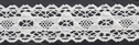 Delicate Scalloped White Cotton Crochet Lace Trim 1 W
