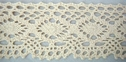 Natural Color Cotton Crochet Cluny Lace Trim 1 3/4 W