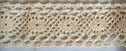 Natural Cotton Crochet Trim 1 7/8 W