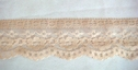 1Y Nude Scalloped Lace Trim 1 7/8 W L4-2