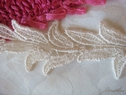 1Y off white Venice Venise Lace Trim 1 3/8 W