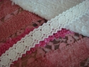 1Y Pure-White Scalloped Cotton Crochet Lace Trim 1 W