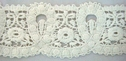 1Y White Floral Scalloped Venice Venise Lace Trim 2 1/4 W