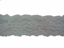 1Y White Scalloped Floral Lace Trim 1 W L6-2