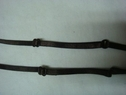 4 Pairs of Brown Adjustable Bra Straps 1/4 W