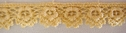 Yellow delicate Narrow Venice Venise lace trim 1/4  w