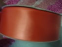 50 Yard Roll Coral Satin Single Faced Ribbon Trim 1 1/2 inch