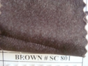 Brown Scuba stretch polyester fabric