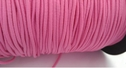 Hot pink bungee elastic 1/8 of inch shocking cord