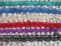 lot 40 yards 6 colors vintage scalloped narrow lace trim 1/2 or 9/16