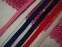 Lot 6 Colors 30Y Elastic Bra Strap Your Choice 3/8 W