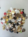 Mixed lot  300 pieces  sew craft 2 hole 4 hols  shank different colors sizes  buttons