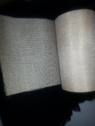 Natural color burlap 6 inch roll of 10 yards