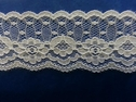 poly white lace floral scalloped trim 1 1/4