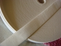 Wholesale 50Y Roll of White knitted Elastic Trim 1 W