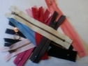 wholesale lot 50 Assorted random zipper 4-7 inch long