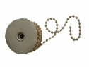 Wholesale Roll 10 Yards Gold Pearl Bead String 1/4 inch