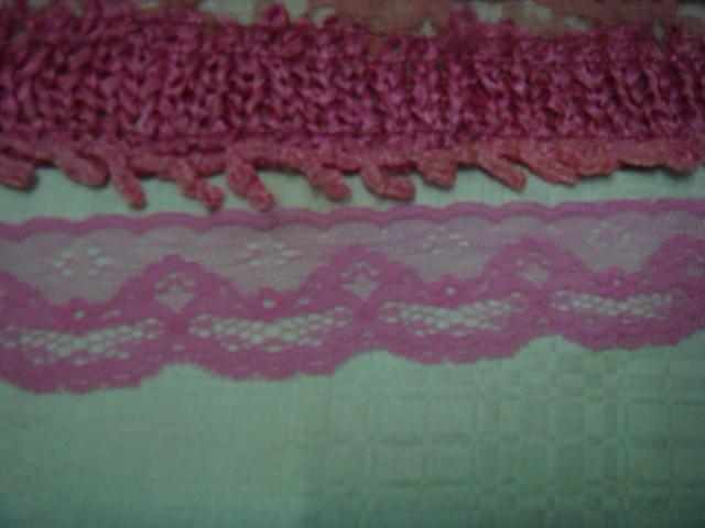 Scalloped Lace Trim by The Yard Double Scalloped Lace Trim