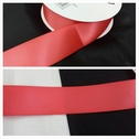 wholesale roll of 50 yards coral colors satin ribbon trim 1 1/2 inches wide.