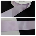 wholesale roll of 50 yards lilac satin ribbon 1 1/2 inches wide.
