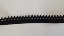 wholesale roll of picot edge elastic black 144 yards 1/2 inch