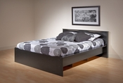 Coal Harbor Platform Bed (Black)