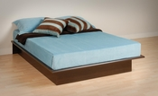 Contemporary Platform Bed (Espresso)