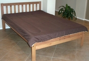 Santa Barbara Platform Bed (Toasted Pecan)