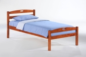 Sesame Platform Bed (Cherry)