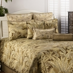 Bahamian Coffee Bedding Comforter Set