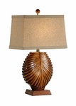 Intricate Bamboo Splits Lamp