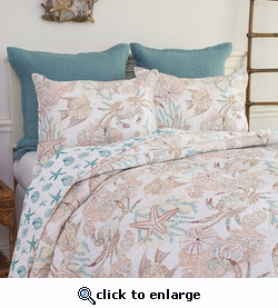 Key Biscayne Quilt with Standard Shams