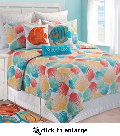 Captiva Island Quilt Bedding