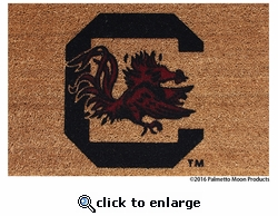 Carolina Gamecock Doormat