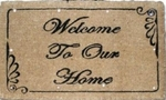 Classic Lighted Welcome Mat