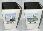 Decorative Coastal Containers
