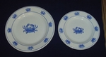 Crab Salad Plates - Set of Four