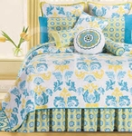 Delilah Blue Bedding