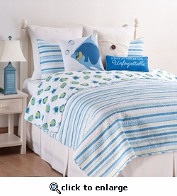 Island Bay Quilts with Shams