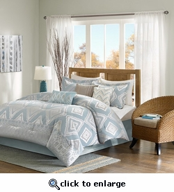 Kiely 7 Piece Comforter Sets