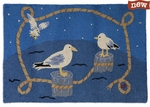 Nautical Gulls 2 x 3 Rug